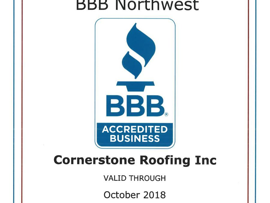 2018 Better Business Bureau Accredited Business