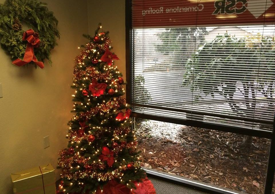 Merry Christmas from Cornerstone Roofing