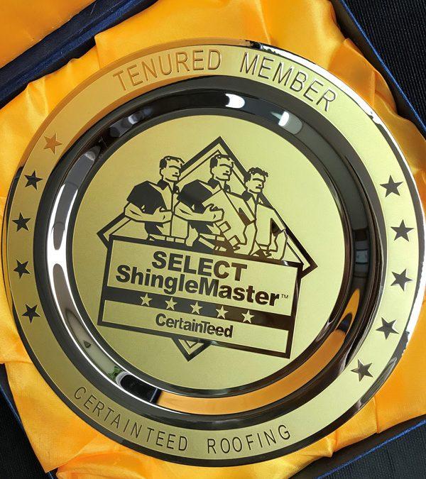 CertainTeed SELECT ShingleMaster Tenured Member