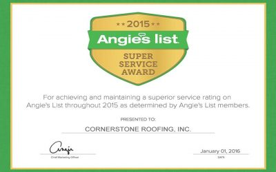 2015 Angie's List Super Service Award Winner