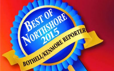 Bothell/Kenmore Reporter Best of Northshore 2015 Award