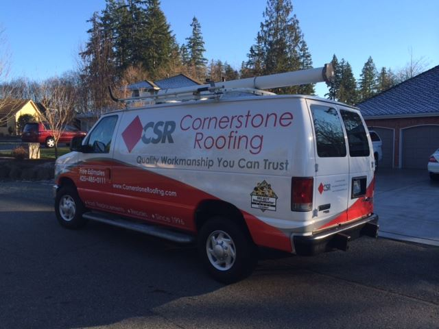 New Cornerstone Roofing Vehicle Design