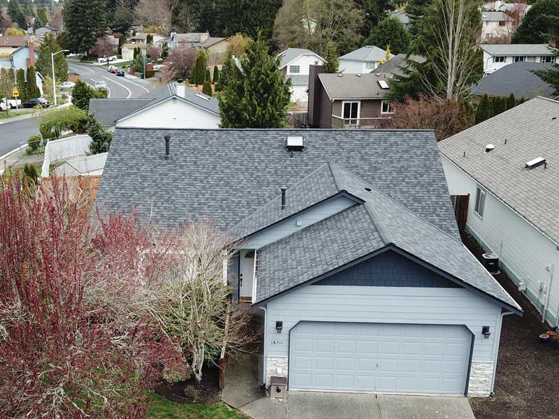 Certainteed Northgate Max Def Moire Black Bothell Wa