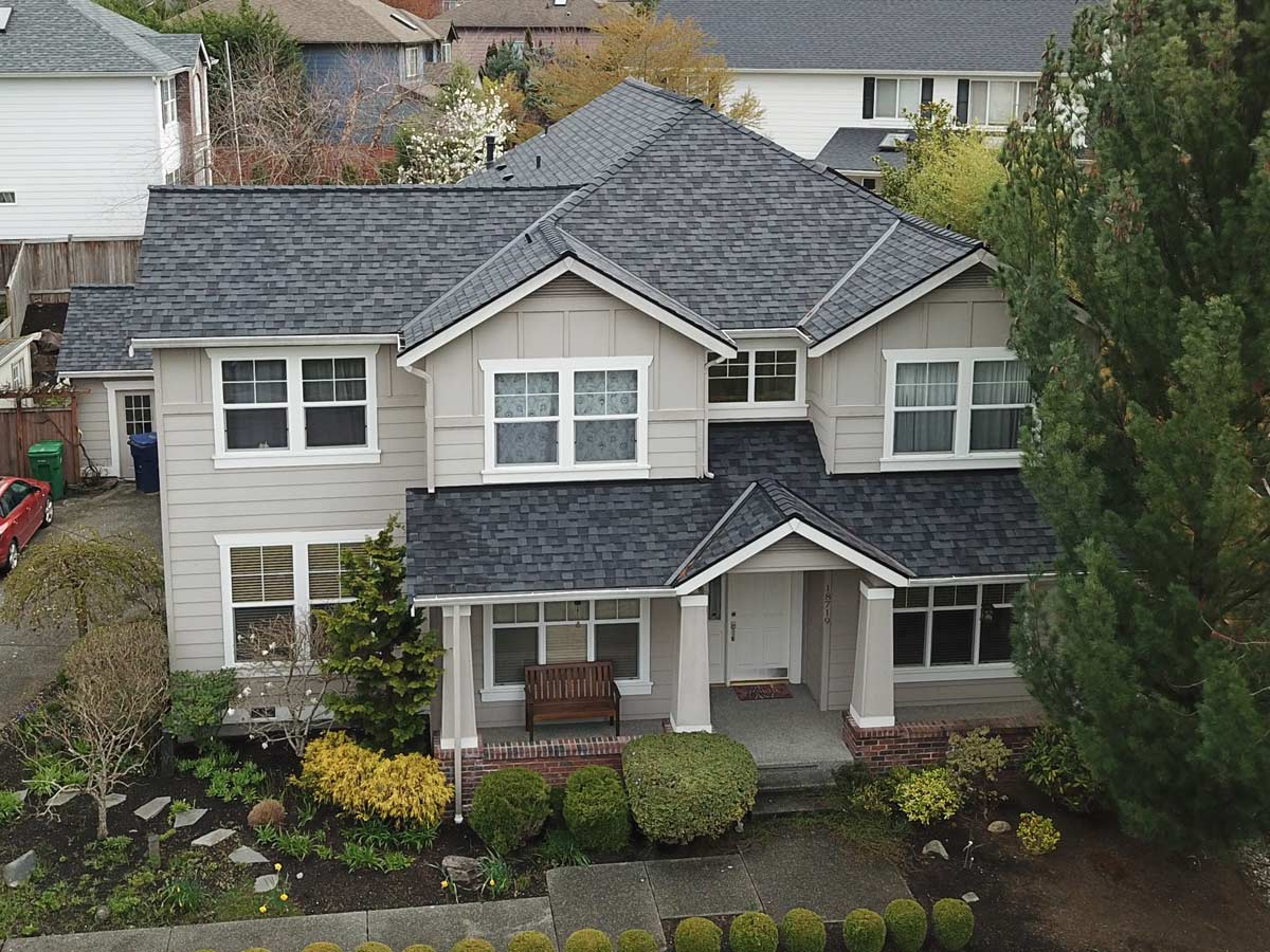Certainteed Landmark Pro Max Def Moire Black Bothell Wa