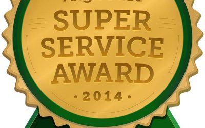 Cornerstone Roofing receives the service industry's esteemed 2014 Angie's List Super Service Award