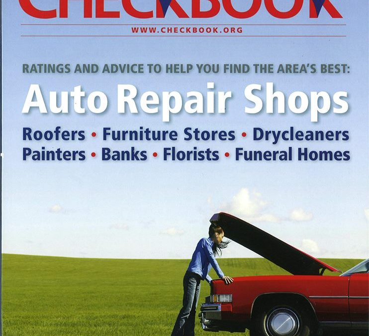 "Cornerstone Roofing receives 2014 ""Top Rating for Quality"" from Consumers' Checkbook Magazine"