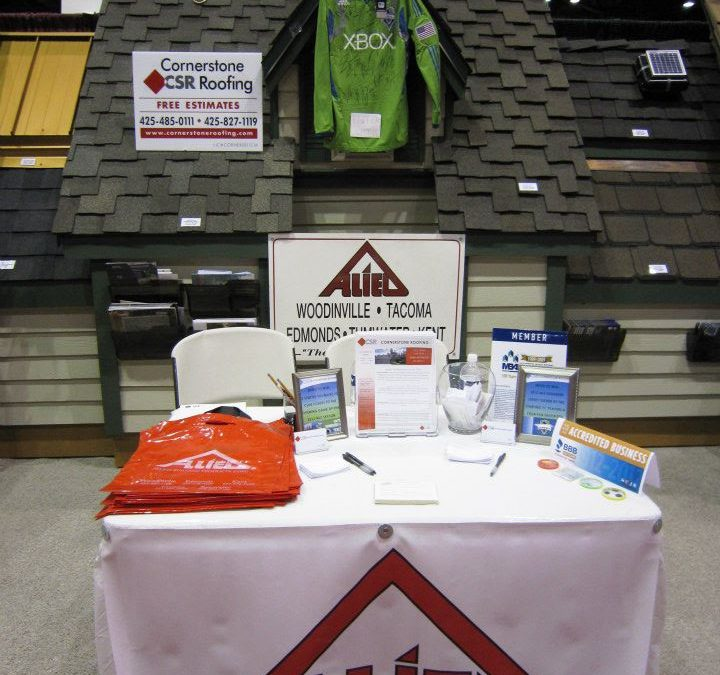 Cornerstone Roofing at the 2012 Seattle Home Show with Allied Building Products