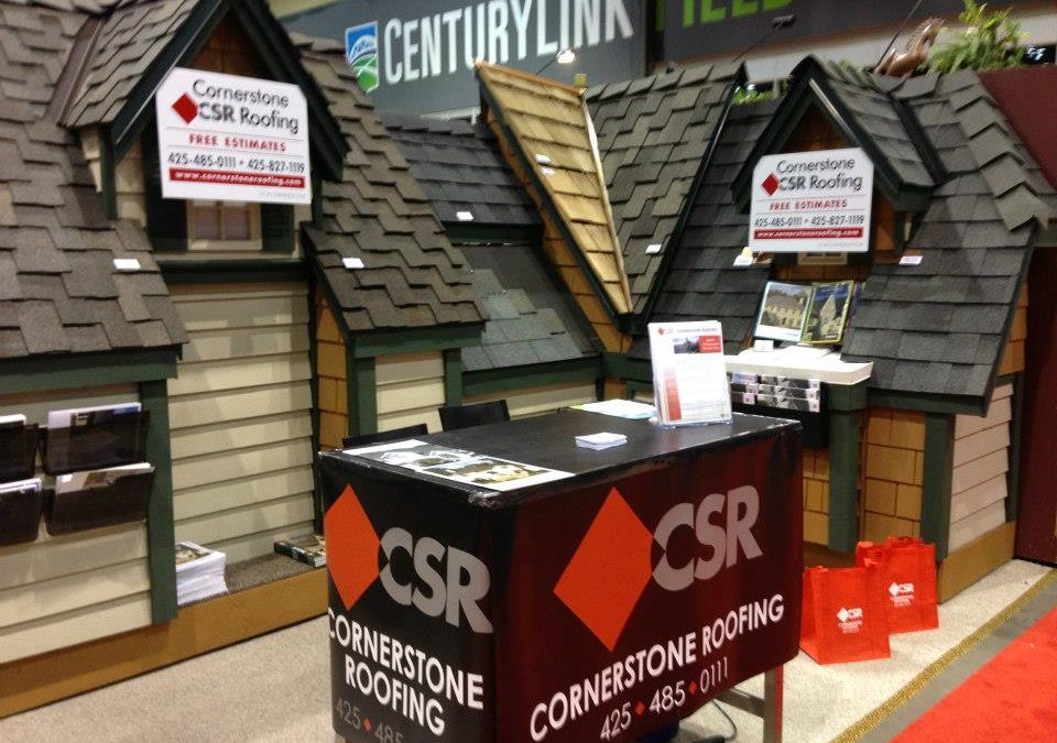 Cornerstone Roofing at the Seattle Home Show
