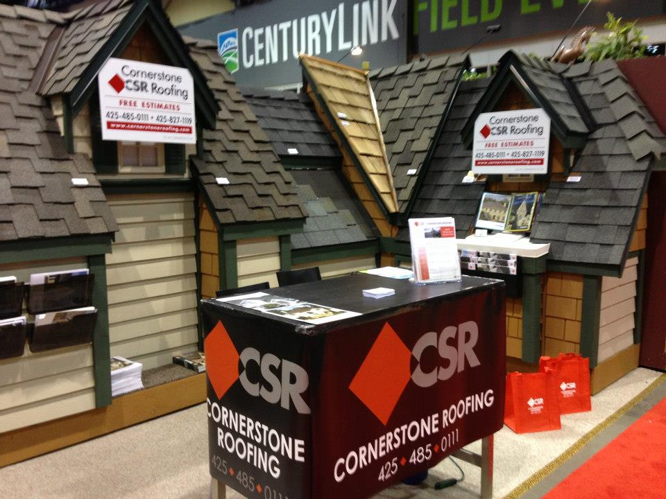 Cornerstone Roofing At The Seattle Home Show Cornerstone Roofing Inc