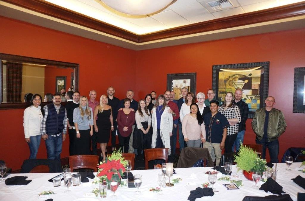 Cornerstone Roofing Company Christmas Party 2018
