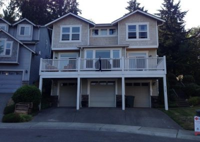 CertainTeed Landmark Moire Black Asphalt Composition Shingle New Roof Replacement in Kenmore Washington