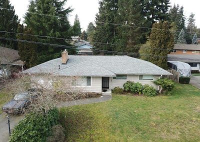 CertainTeed Landmark Georgetown Gray Asphalt Composition Shingle New Roof Replacement in Edmonds Washington