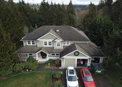 Asphalt Composition Shingle Roof before Roof Replacement in Lake Stevens Washington
