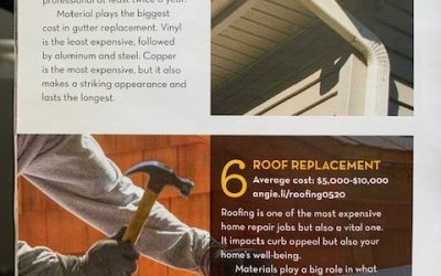 Summer Roof and Gutter Projects